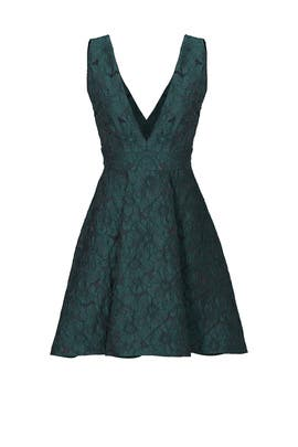 Green Amsterdam Dress by Paper Crown