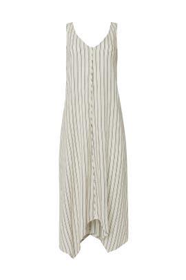 Striped Trapeze Dress by Splendid