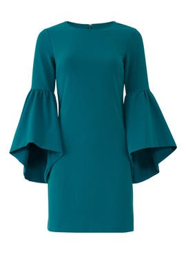 Blue Bell Sleeve Shift by Slate & Willow