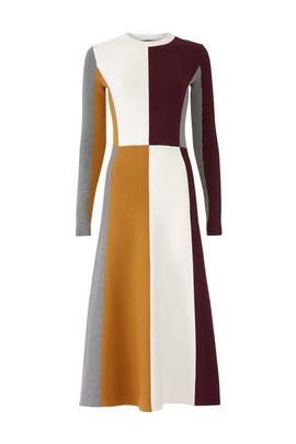 Colorblock Midi Dress by Slate & Willow
