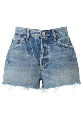 Denim Parker Shorts by AGOLDE
