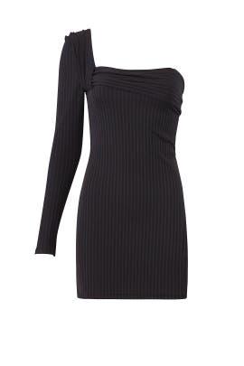 Drastic Shoulder Dress by Baja East