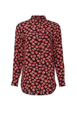 Floral Collared Blouse by GANNI
