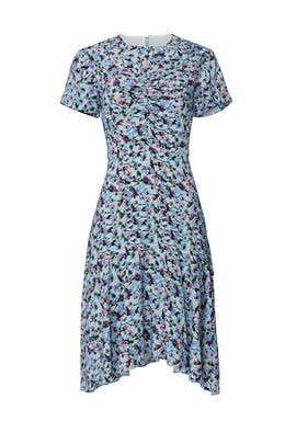 Blue Floral Day Dress by Jason Wu Collection