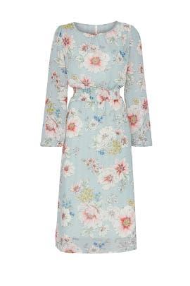Smocked Floral Dress by Louna