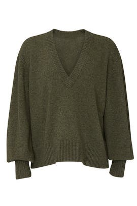 Tawny V-Neck Pullover by Marissa Webb