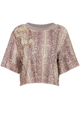 Sequin Python Alexi Top by Ramy Brook