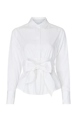 Classic Wrap Tie Top by Scotch & Soda