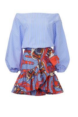 Combo Dress by Stella Jean