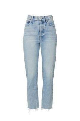 Harper Crop Slim Jeans by TRAVE Denim