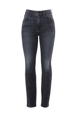 Grey Stevie Straight Jeans by 3x1