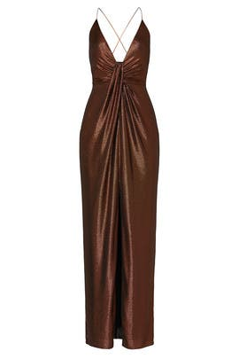 Copper Gown by Aidan AIDAN MATTOX