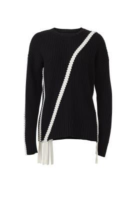 Asymmetric Braid Sweater by Derek Lam 10 Crosby