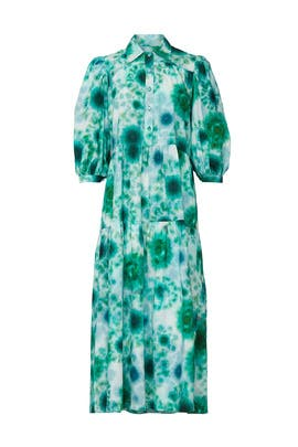 Printed Clayton Maxi by Hunter Bell