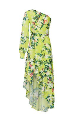 One Shoulder High Low Maxi by ONE33SOCIAL