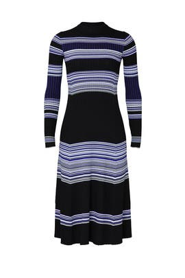 Striped Ribbed Dress by Proenza Schouler