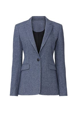 Hazel Herringbone Blazer by rag & bone