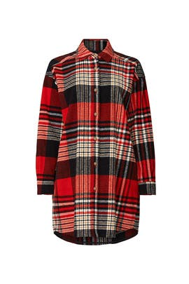 Oversized Check Shirt by Scotch & Soda