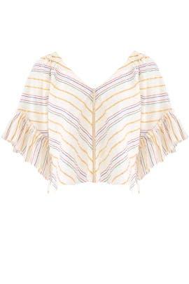 Striped Savannah Top by Saylor