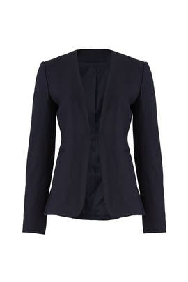 Navy Open Blazer by Theory