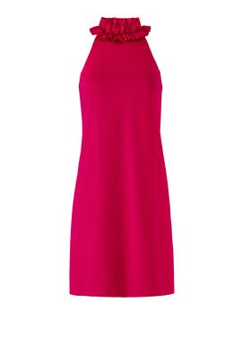 Pink Dobbie Dress by Trina Turk