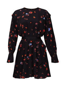 Floral Blouson Dress by Jason Wu