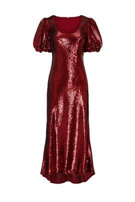 Farewell Sequin Midi Dress by Keepsake