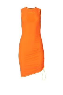 Orange Zoe Dress by MIAOU