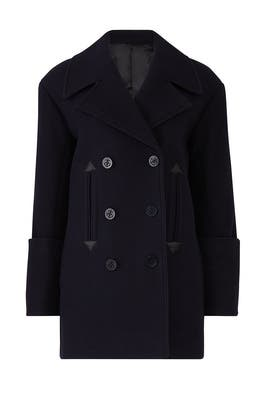 Oversized Double Breasted Coat by Victoria Victoria Beckham