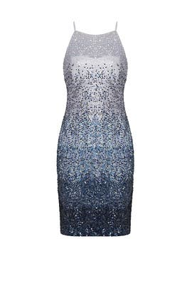 1207f8d14f9 Blue Ombre Sheath by Badgley Mischka for  199