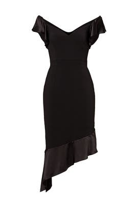 Black Grace Dress by INTER-PRET.US