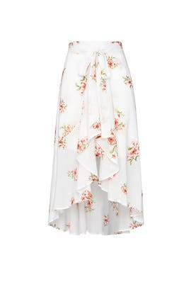 Sweet Delilah Midi Skirt by MINKPINK