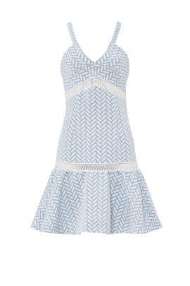 Blue Brandt Dress by Shoshanna
