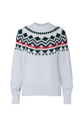 Performance Merino Fair Isle Sweater by Tory Sport