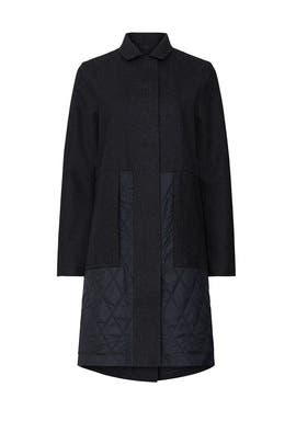 Roam Far Wool Coat by Lululemon