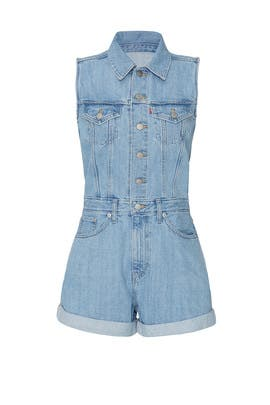 Marian Denim Romper by Levi's
