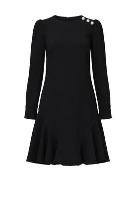 Black Dara Dress by Shoshanna