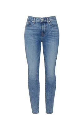 Sloan Vintage Ankle Skinny Jeans by 7 For All Mankind