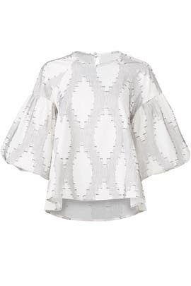 Printed Flow Top by Hunter Bell