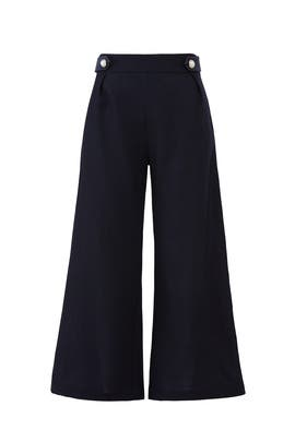Pearl Cropped Trousers by Mother of Pearl