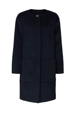 Classic Pocket Front Coat by Thakoon Collective