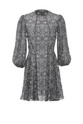 Black Kaleidoscope Dress by DEREK LAM