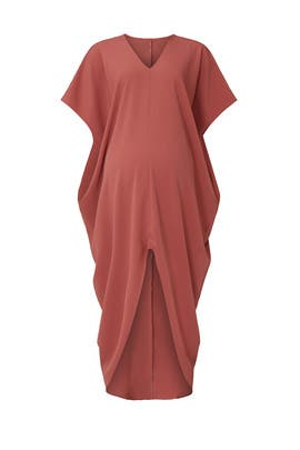 Burnt Orange Riviera Maternity Dress by HATCH