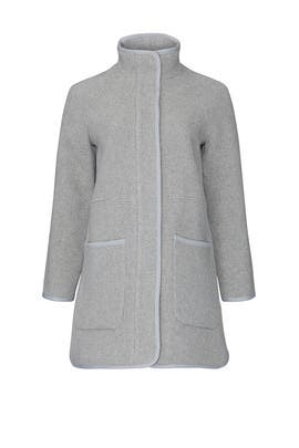 Grey Estate Cocoon Coat by Madewell