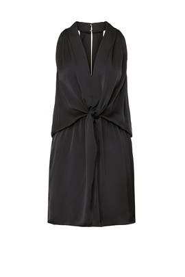 Black Knotted Marie Dress by Ramy Brook