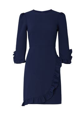 Navy Mariana Dress by Shoshanna