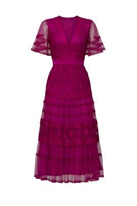 Florence Short Sleeve Dress by Temperley London