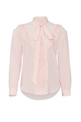 Ruffled Prairie Top by Coach