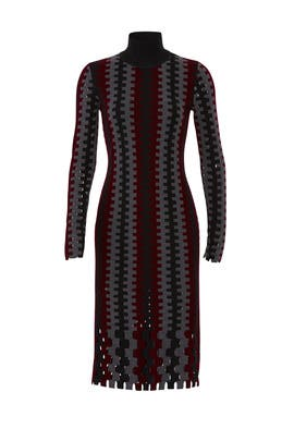 Turtleneck Knit Midi Dress by Diane von Furstenberg