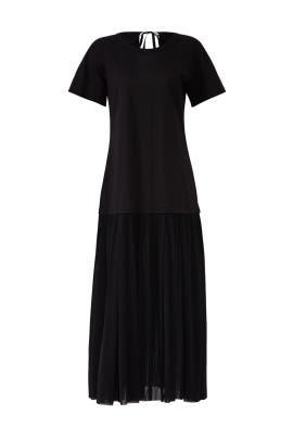 Jersey Drop Waist Dress by Jil Sander Navy